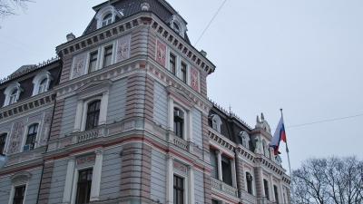 Здание российского посольства