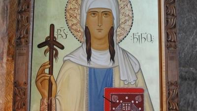 Икона со святой Нино