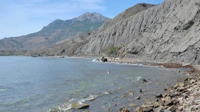 Вид на гору Эчки-Даг
