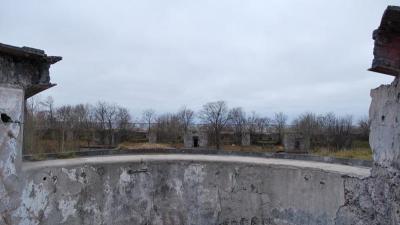 Руины дальномерного поста