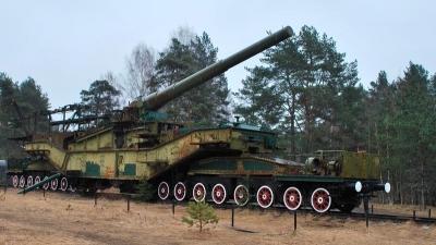 ЖД артиллерийский транспортер ТМ-3-12