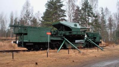 ЖД артиллерийский транспортер ТМ-1-180