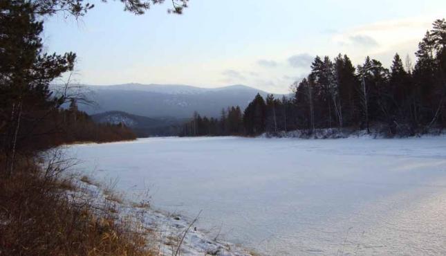 гора Поперечная. Хребет Зигальга. Южный Урал