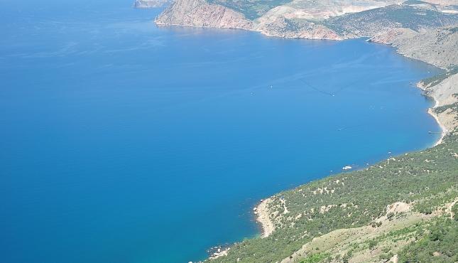 Мыс Айя. Вид на Севастополь