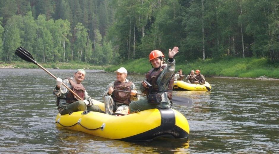 Сплав по реке Турка