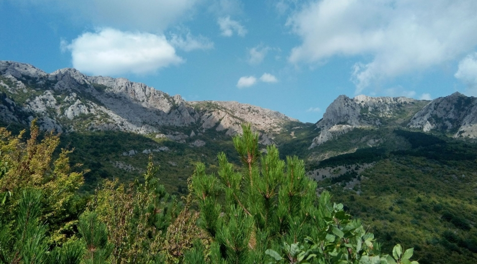 Главная гряда крымских гор