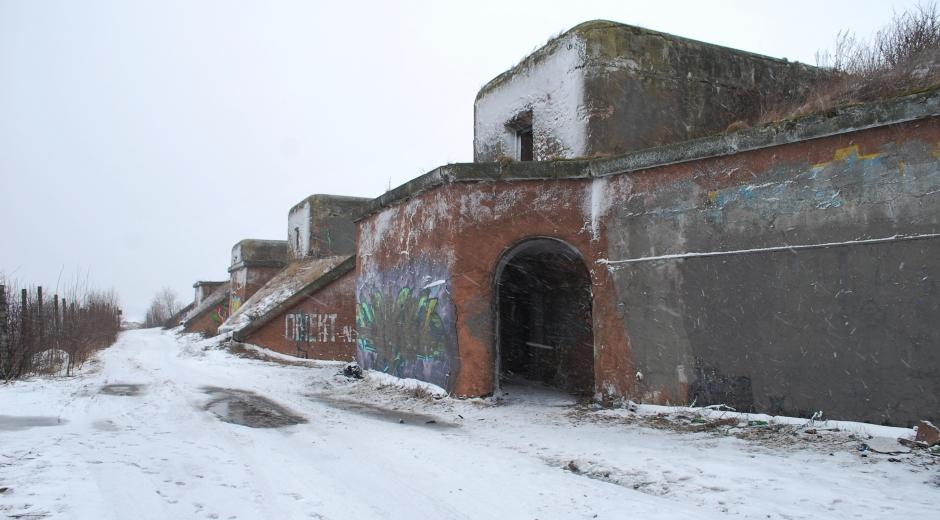Северный форт №1. Кронштадт