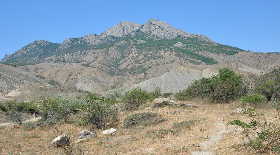 Гора Эчки - Даг. Крым