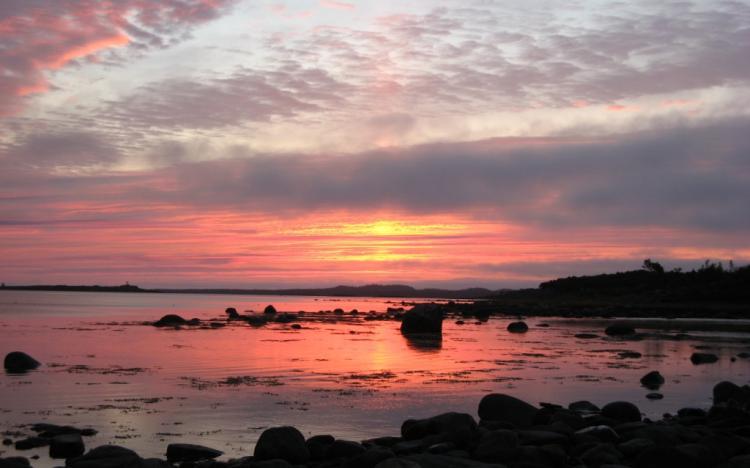 Беломорские закаты на Соловках