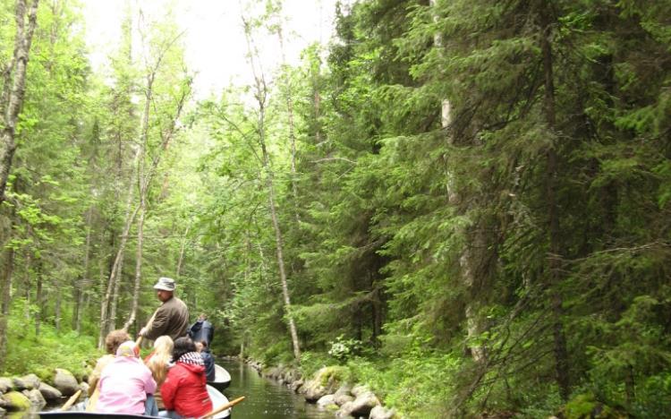 Каналы на Соловецких островах