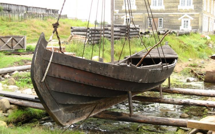 Реконструкция поморской шняки по старинным чертежам