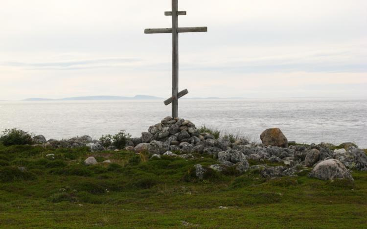 Вид с Заяцкого острова на архипелаг кузова