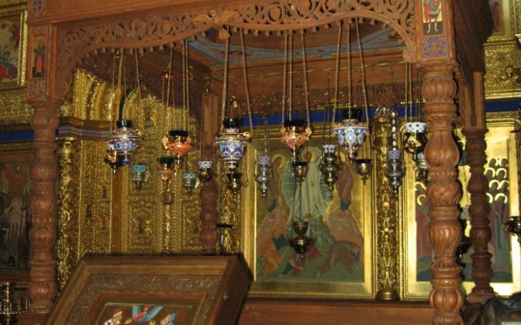 Внутреннее убранство Благовещенской надворной церкви